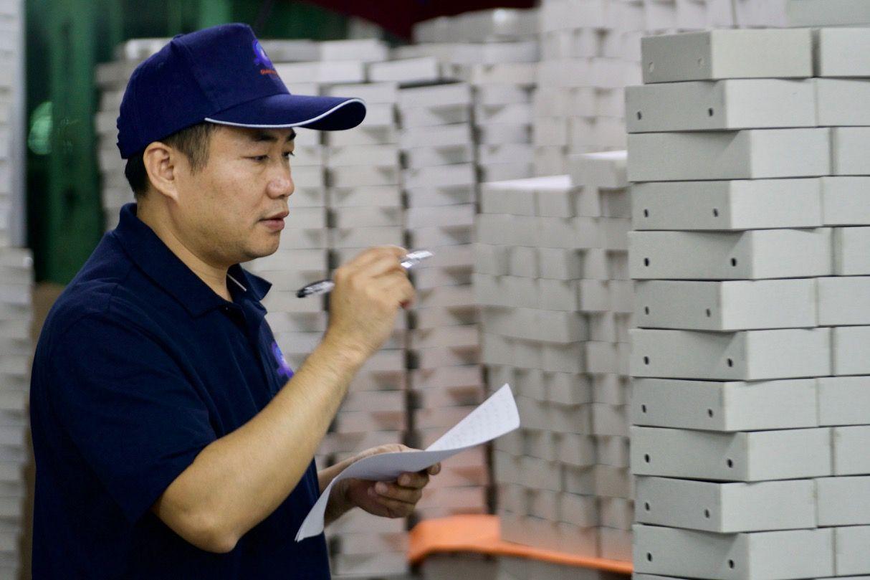 Inspection qualité de coffrets Shenzhen